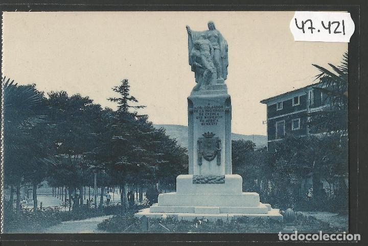 CUENCA - 19- MONUMENTO SOLDADOS - ROISIN -VER REVERSO-(47.421) (Postales - España - Castilla La Mancha Antigua (hasta 1939))