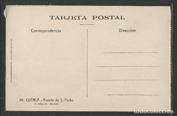 Postales: CUENCA - 20- PUENTE DE SAN PABLO - ROISIN -VER REVERSO-(47.422) - Foto 2 - 82499000