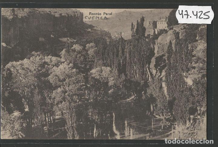 CUENCA - RECREO PERAL - SERIE B- NUM. 9 - FOTO NARVAEZ -VER REVERSO-(47.425) (Postales - España - Castilla La Mancha Antigua (hasta 1939))