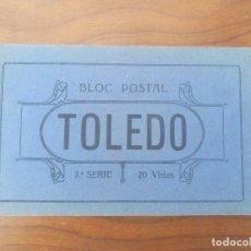 Postales: TOLEDO .- BLOC POSTAL .- 3ª SERIE .- EDICION GRAFOS MADRID . Lote 83001264