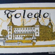 Postales: TOLEDO ESTUCHE-ACORDEÓN 12 POSTALES – HUECOGRABADO (AÑOS 1940). Lote 83049064