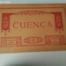 Postales: CUENCA. BLOC 20 POSTALES. COMPLETO FOTOTIPIA THOMAS BARCELONA. Lote 141315390