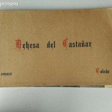 Postales: ALBUM BLOC 16 POSTALES ).DEHESA DEL CASTAÑAR. SONSECA (TOLEDO).. Lote 85920484