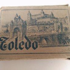 Postales: POSTAL FOTO 7X5 CMS TOLEDO 42 ITEMS CON ESTUCHE. 1925 COMPLETO MUY RARO. Lote 85921112