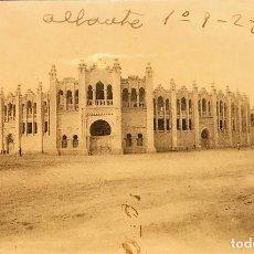 Postales: ALBACETE. PLAZA DE TOROS. EDICION DEL AYUNTAMIENT DE ALBACETE. Lote 86479452