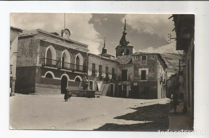 JADRAQUE - PLAZA DE ESPAÑA - Nº 5 ED. LLAMAS (Postales - España - Castilla la Mancha Moderna (desde 1940))