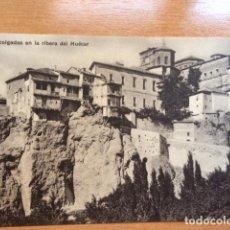 Postales: CUENCA CASAS COLGADAS EN LA RIBERA DEL HUECAR . NARVAEZ. Lote 86958248