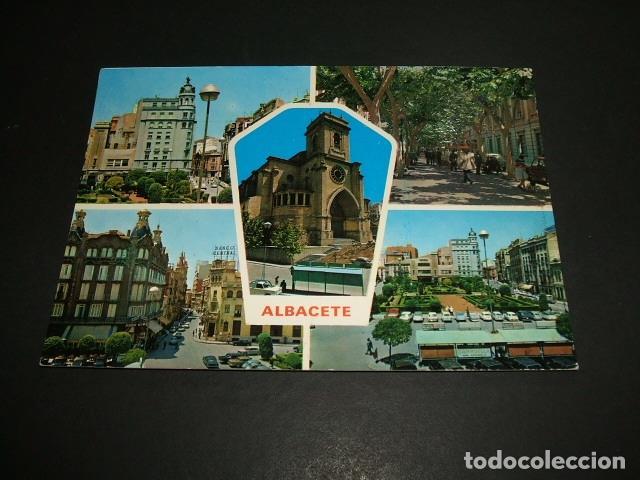 ALBACETE VARIAS VISTAS (Postales - España - Castilla la Mancha Moderna (desde 1940))
