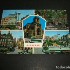 Postales: ALBACETE VARIAS VISTAS. Lote 87630496