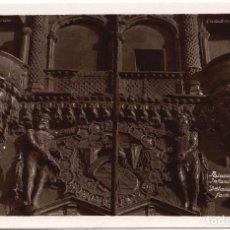Postales: POSTAL FOTOGRÁFIACA PALACIO DE INFANTADO DETALLE FACHADA - GUADALAJARA. Lote 88160028