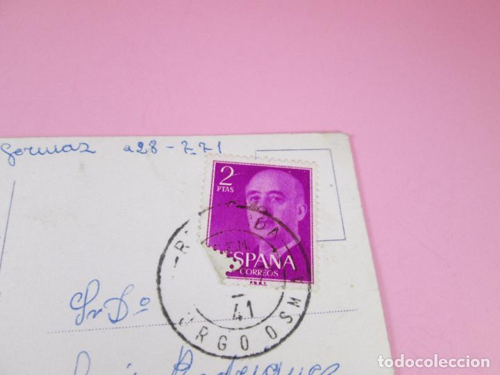 Postales: postal-soria-la rivera del río-circulada-1959-antigua-coleccionistas-ver fotos - Foto 3 - 89431232