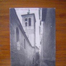 Postales: POSTAL 472 TOLEDO - UNA CALLE - PUBLICIDAD DE CASA PUJOL . Lote 90205788