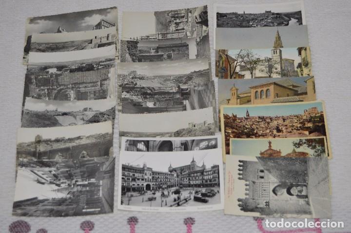 LOTE DE MÁS DE 20 POSTALES - TOLEDO - ORIGINALES - ANTIGUAS - PRECIOSAS - SIN CIRCULAR - HAZ OFERTA (Postales - España - Castilla la Mancha Moderna (desde 1940))