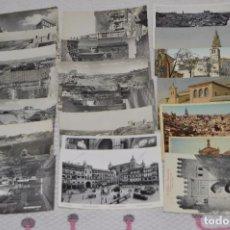 Postales: LOTE DE MÁS DE 20 POSTALES - TOLEDO - ORIGINALES - ANTIGUAS - PRECIOSAS - SIN CIRCULAR - HAZ OFERTA. Lote 90334804