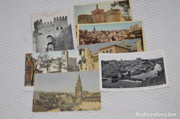 Postales: LOTE DE MÁS DE 20 POSTALES - TOLEDO - ORIGINALES - ANTIGUAS - PRECIOSAS - SIN CIRCULAR - HAZ OFERTA - Foto 4 - 90334804