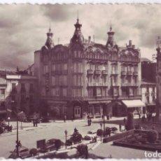 Postales: ALBACETE: PLAZA DEL CAUDILLO Y GRAN HOTEL. GARCÍA GARRABELLA Y CÍA. NO CIRCULADA (AÑOS 50). Lote 90913595