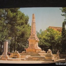 Postales: POSTAL ALBACETE - MONUMENTO A LOS CAIDOS.. Lote 92356470