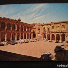 Postales: POSTAL ALCARAZ ( ALBACETE ) - ARCO DE AHORI Y LONJA REGATERIA.. Lote 156528901
