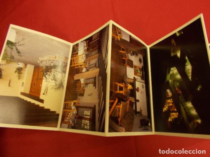 Postales: ACORDEON 12 POSTALES. HOTEL CUEVA DEL FRAILE. CUENCA. VISTAS GENERALES. - Foto 2 - 93121415