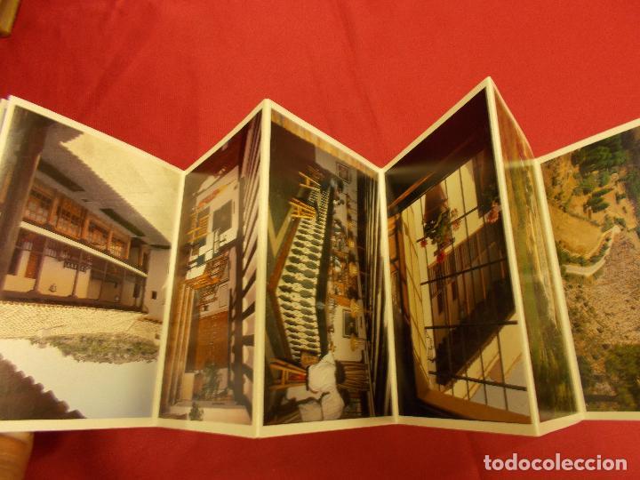 Postales: ACORDEON 12 POSTALES. HOTEL CUEVA DEL FRAILE. CUENCA. VISTAS GENERALES. - Foto 3 - 93121415
