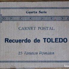 Postales: ALBUM 20 POSTALES DE TOLEDO - INCOMPLETO FALTAN 5 POSTALES. Lote 93790890