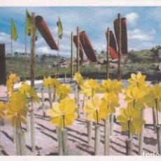 Cartoline: POSTAL JARDIN DEL VIENTO. ABLANQUE. GUADALAJARA - HITOS DEL RODENAL. Lote 98023182