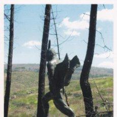 Cartoline: POSTAL EL ANGEL EXTERMINADOR. ABLANQUE. GUADALAJARA - HITOS DEL RODENAL. Lote 98022955