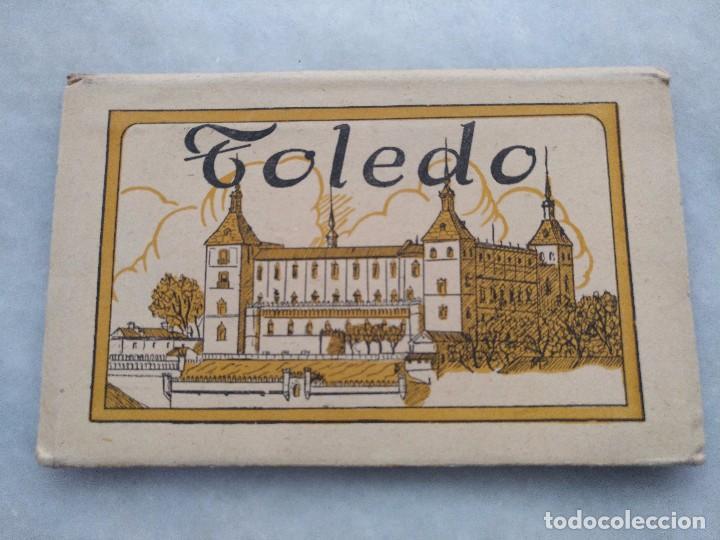 ALBUM DESPLEGABLE DE 12 POSTALES DE TOLEDO.SEGUNDA SERIE HELIOTIPIA ARTISTÍCA ESPAÑOLA (Postales - España - Castilla La Mancha Antigua (hasta 1939))