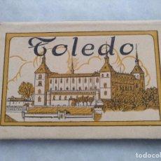 Postales: ALBUM DESPLEGABLE DE 12 POSTALES DE TOLEDO.SEGUNDA SERIE HELIOTIPIA ARTISTÍCA ESPAÑOLA. Lote 94990059