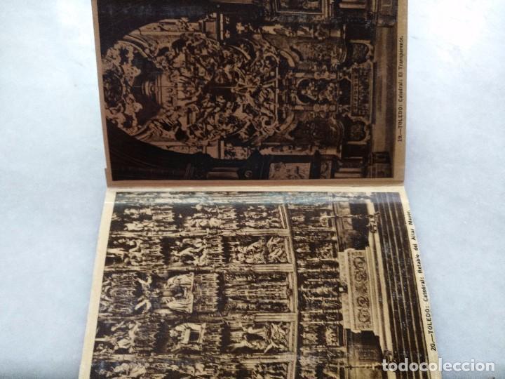 Postales: ALBUM DESPLEGABLE DE 12 POSTALES DE TOLEDO.segunda serie HELIOTIPIA ARTISTÍCA ESPAÑOLA - Foto 5 - 94990059
