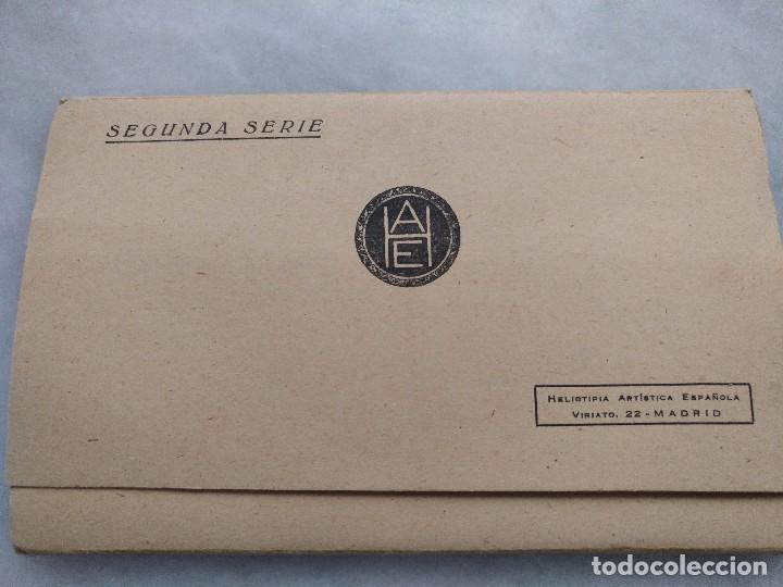 Postales: ALBUM DESPLEGABLE DE 12 POSTALES DE TOLEDO.segunda serie HELIOTIPIA ARTISTÍCA ESPAÑOLA - Foto 8 - 94990059