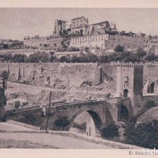 Cartoline: POSTAL ALCAZAR DE TOLEDO - EL ALCAZAR DESPUES DEL ASEDIO - HAUSER Y MENET. Lote 95194855