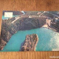 Postales: P0597 POSTAL FOTOGRAFIA LAGO DE BOLARQUE NUEVA SIERRA DEL MAR. Lote 95752619