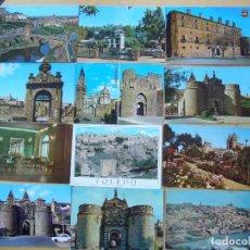 Postales: LOTE 25 POSTALES DE TOLEDO. Lote 95808287