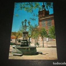 Postais: ILLESCAS TOLEDO PLAZA DE LA FUENTE. Lote 96933639