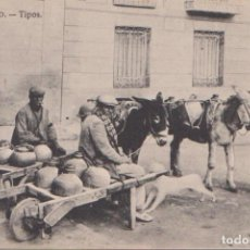 Postales: TOLEDO - TIPOS. Lote 96946175