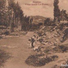 Postales: ALCARAZ (ALBACETE) - VISTA DESDE LA PRESA. Lote 97014211