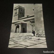 Postales: CIUDAD REAL IGLESIA DE SANTIAGO TORRE Y ATRIO. Lote 97533211