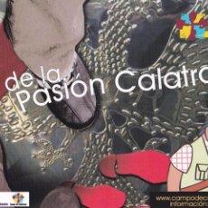 Postales: POSTAL RUTA DE LA PASION CALATRAVA. CAMPO DE CALATRAVA. CIUDAD REAL. Lote 98065279