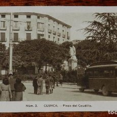Postales: ANTIGUA POSTAL DE CUENCA, PLAZA DEL CAUDILLO, NUM. 3, ED. FONTANA, FOTO MEDIAMARCA, NO CIRCULADA.. Lote 98111051