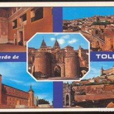 Postales: 1960 - RECUERDO DE TOLEDO. Lote 98191595