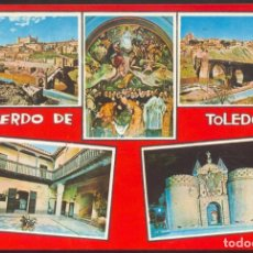 Postales: 4607 - RECUERDO DE TOLEDO. Lote 98193499