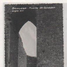 Postales: BRIHUEGA PUERTA DE COZAGON. SIGLO XIII. CLICHÉ CAMARILLO. SIN CIRCULAR. SIN REVERSO.. Lote 98220111