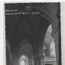 Postales: BRIHUEGA IGLESIA DE SANTA MARÍA. SIGLO XIII. CLICHÉ CAMARILLO. SIN CIRCULAR. SIN REVERSO.. Lote 98221503