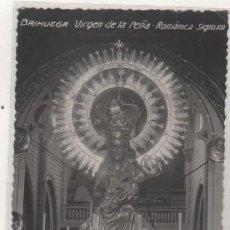 Postales: BRIHUEGA VIRGEN DE LA PEÑA. ROMÁNICA SIGLO XII CLICHÉ CAMARILLO. SIN CIRCULAR. SIN REVERSO.. Lote 98222183