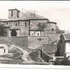 Postales: ATIENZA - IGLESIA DE LA SANTÍSIMA TRINIDAD. ÁBSIDE ROMÁNICO - Nº 7 ED. NIETA DE C. RODRIGO. Lote 98606719