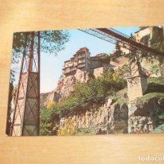 Postales: CUENCA PUENTE DE SAN JUAN Y CASAS COLGADAS. Lote 99153731