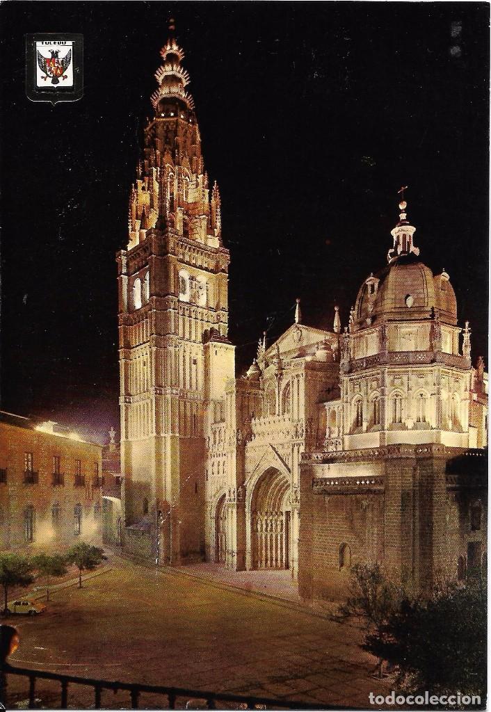 ** A1176 - POSTAL - TOLEDO DE NOCHE - CATEDRAL segunda mano