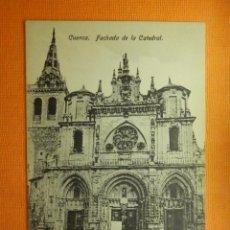 Postales: POSTAL - ESPAÑA - CUENCA - FACHADA DE LA CATEDRAL - EDICIÓN GARAY - NE - NC. Lote 100660907