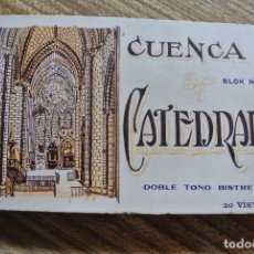 Postales: BLOC DE 20 POSTALES, CATEDRAL DE CUENCA. Lote 101702971